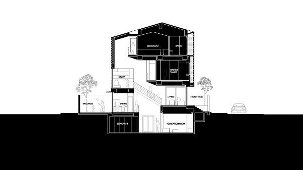 bản vẽ thiết kế nhà phố đẹp