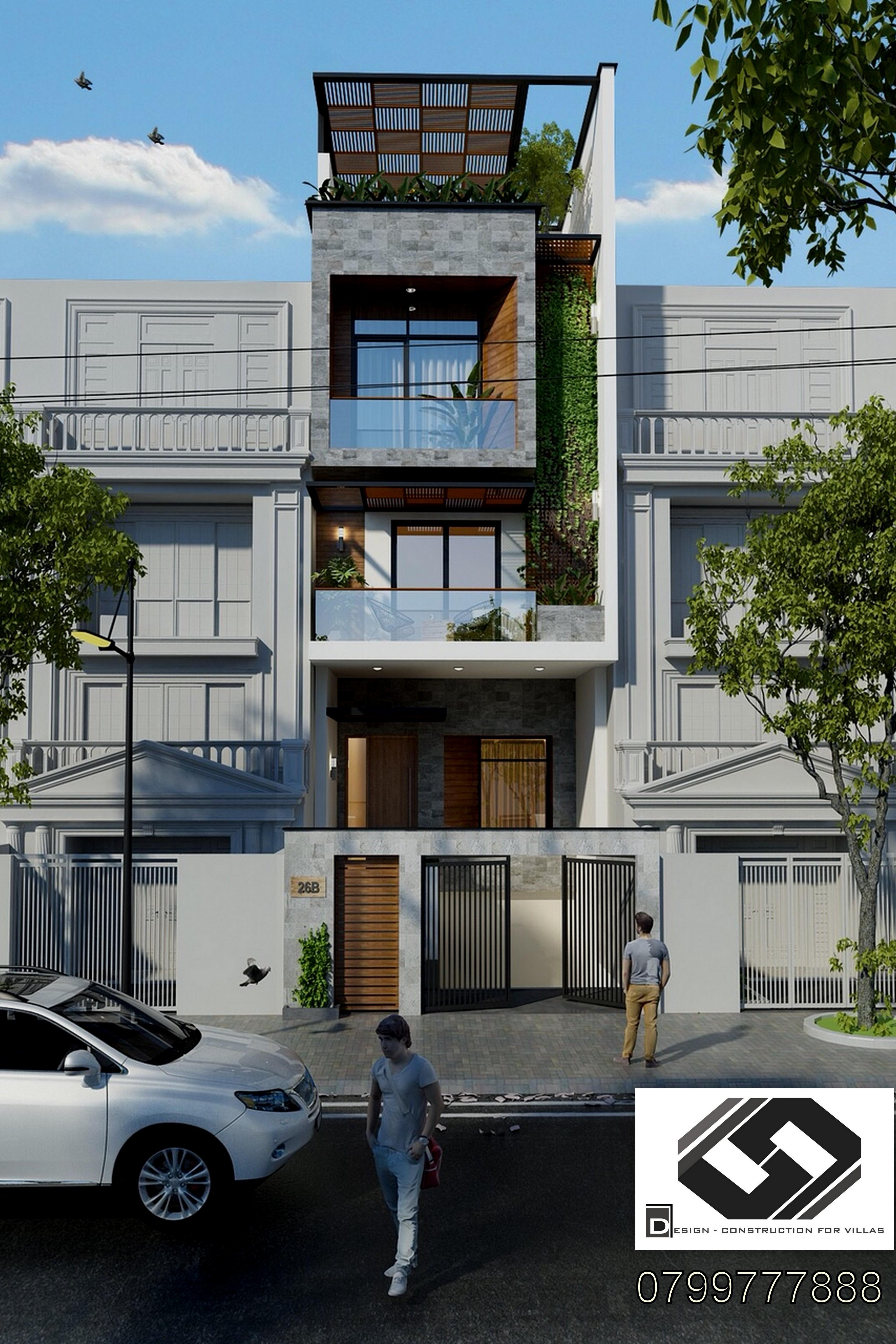 công ty thiết kế xây dựng nhà phố đẹp