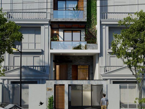 thiếthiết kế nhà phố, biệt thự đẹp