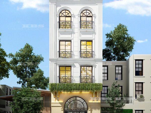 thiết kế khách sạn, xây dựng nhà phố siêu đẹp
