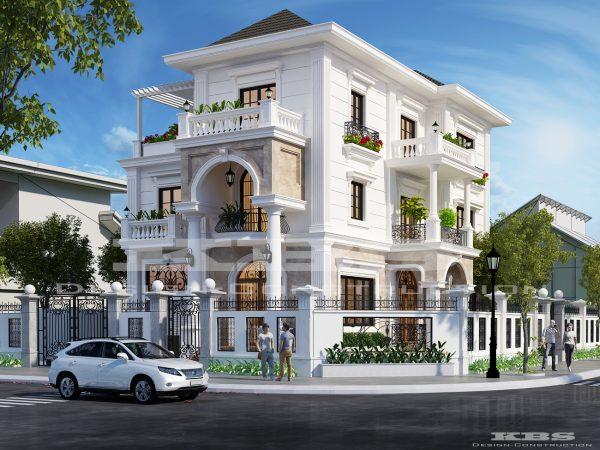 công ty tư vấn thiết kế xây dựng biệt thự đẹp đẳng cấp